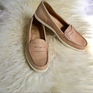 Naturalizer - Nude Slip-on Sneaker Loafers